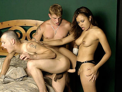 Interracial Bisexual Anal Fuck