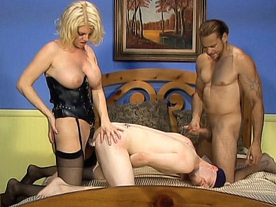 Bisexual Strap on Fucking